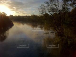 神秘的な川と森の風景 - No.964811