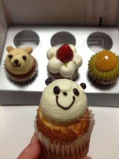 キャラクターカップケーキの写真・画像素材[964816]