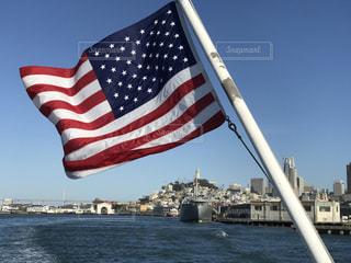 アメリカの国旗の写真・画像素材[965009]