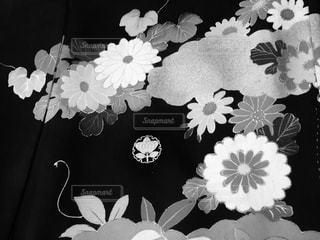 アンティーク着物柄の写真・画像素材[966876]