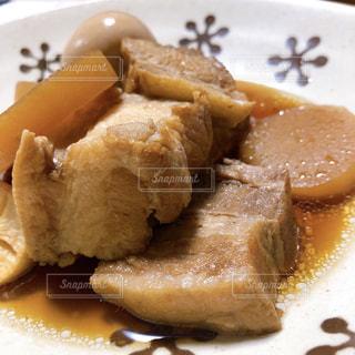 豚の角煮の写真・画像素材[2430049]
