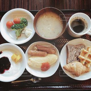 【秋田山形の旅写真】朝食ビュッフェ🍽🌞 - No.1246477
