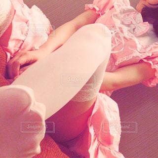 ピンクメイドの写真・画像素材[974079]