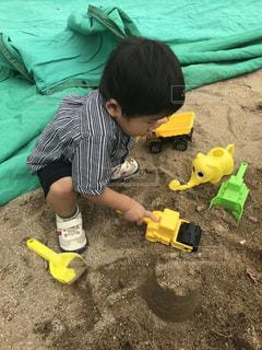 砂遊びの写真・画像素材[966449]