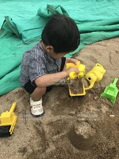 砂遊びの写真・画像素材[966450]