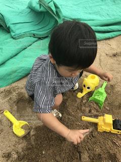 砂遊びの写真・画像素材[966451]