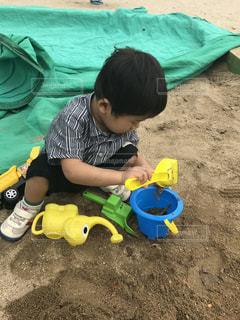 砂遊びの写真・画像素材[966452]