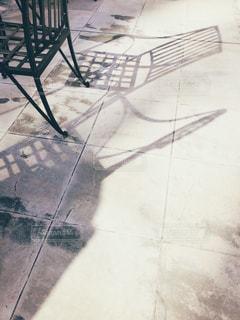 椅子の影。の写真・画像素材[966689]