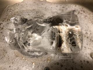 氷と流しの写真・画像素材[2794645]