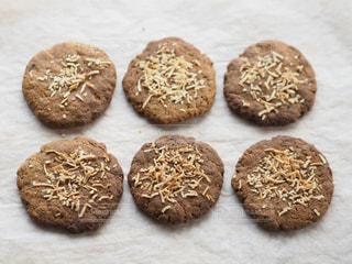 大豆粉で作ったコーヒークッキーの写真・画像素材[967193]