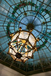 ホテルの天井の写真・画像素材[977179]