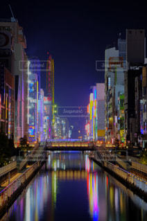 ミナミの夜景の写真・画像素材[967766]