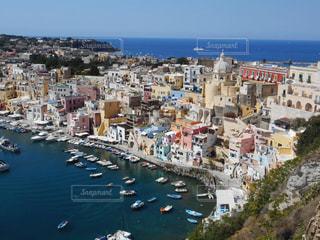 イタリア プロチダ島の風景の写真・画像素材[967894]