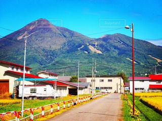 会津磐梯山の写真・画像素材[967921]