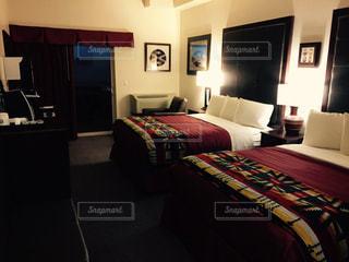 アメリカアリゾナ州モニュメントバレー THE VIEW HOTELの部屋の写真・画像素材[1097753]