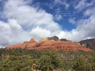 アメリカアリゾナ州セドナのレッドロックの写真・画像素材[1099239]