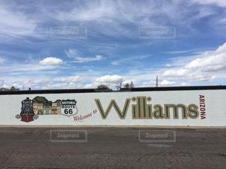 アメリカアリゾナ州ウィリアムズ ヒストリックルートの写真・画像素材[1113938]