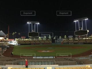 アメリカカリフォルニア州ロサンゼルス ドシャースタジアム ロサンゼルスマラソンの写真・画像素材[1114073]