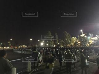 アメリカカリフォルニア州ロサンゼルス ロサンゼルスマラソンスタート前の写真・画像素材[1114077]