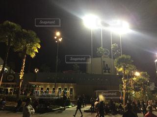 アメリカカリフォルニア州ロサンゼルス ロサンゼルスマラソン ドシャースタジアムの写真・画像素材[1114099]