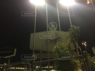 アメリカカリフォルニア州ロサンゼルス ロサンゼルスマラソン ドシャースタジアムの写真・画像素材[1114101]