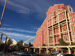 アメリカネバダ州プリム バッファロービルズ ホテル外観の写真・画像素材[1127658]