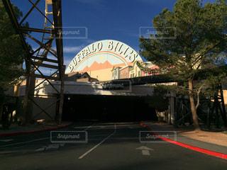 アメリカネバダ州プリム バッファロービルズ ホテルの写真・画像素材[1127659]