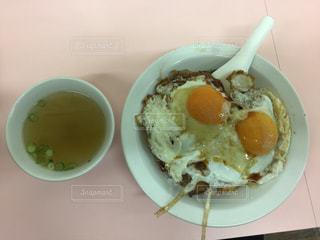 今治市重松飯店の焼豚玉子飯の写真・画像素材[3097814]
