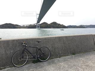 しまなみ海道サイクリングの写真・画像素材[3097914]