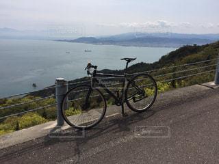 しまなみ海道サイクリングの写真・画像素材[3097915]