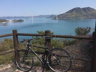 しまなみ海道サイクリングの写真・画像素材[3097953]