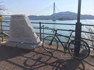 しまなみ海道サイクリングの写真・画像素材[3100427]