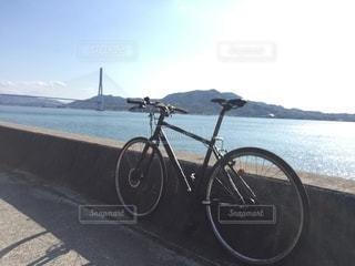しまなみ海道サイクリングの写真・画像素材[3100428]