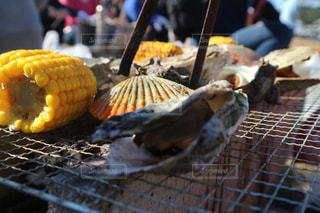 牡蠣焼きの写真・画像素材[1671708]