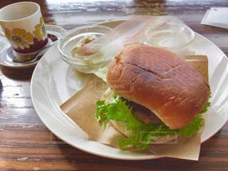 カフェごはん ハンバーガープレート - No.971955