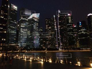 シンガポールの夜景の写真・画像素材[988369]