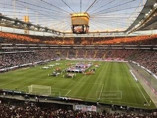 フランクフルトのホームスタジアム、コメルツバンクアレーナの写真・画像素材[1438268]