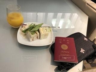 出張前にラウンジで朝食をの写真・画像素材[1374648]