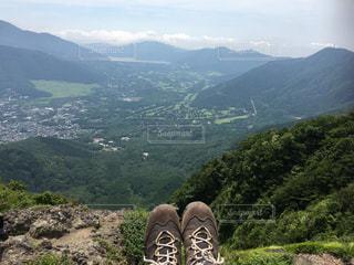金時山山頂でひとやすみの写真・画像素材[969965]