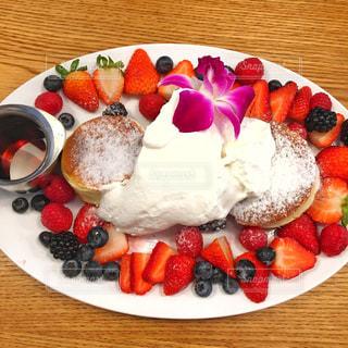 フルーツパンケーキの写真・画像素材[969622]