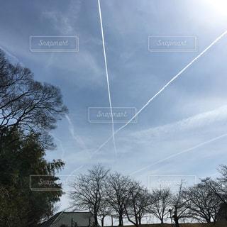 空で落書きの写真・画像素材[969548]