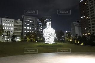 虎ノ門ヒルズの中庭の写真・画像素材[871917]