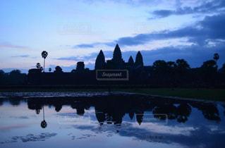 朝とカンボジアの写真・画像素材[987736]