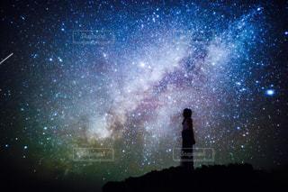 夜空のぼやけた画像の写真・画像素材[970234]