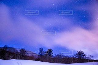 斑尾高原からの星空の写真・画像素材[970136]