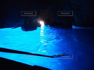 青の洞窟の写真・画像素材[1036957]