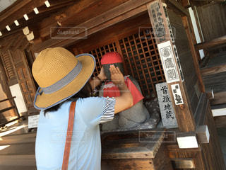 詩仙堂のかわいいお地蔵さんの写真・画像素材[1228423]-Snapmart ...