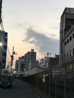 ゴジラ雲の写真・画像素材[1058032]