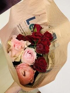 お花の宅配始めましたの写真・画像素材[3353559]