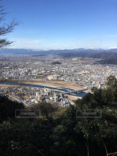 岐阜城からの景色の写真・画像素材[970675]